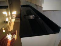 Black Granite Kitchen in Brent