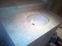 Marble bathroom in Chelsea