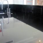 Black Granite Kitchen in Wimbledon