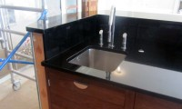 Black Granite Kitchen in Wimbledon