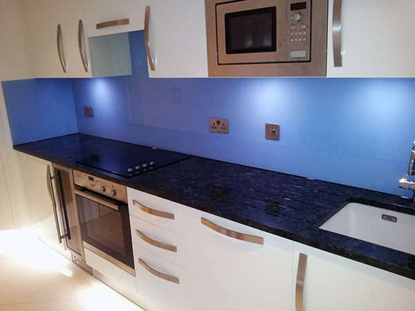 Granite Kitchen Worktops And Glass Splashbacks In Euston